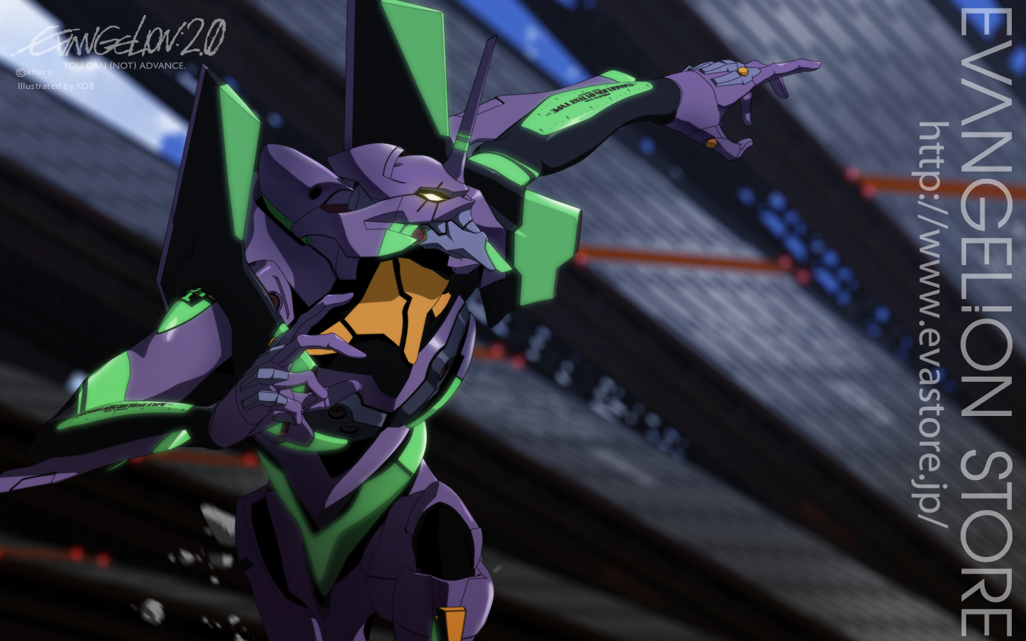 Eva Unit 01 Wallpaper