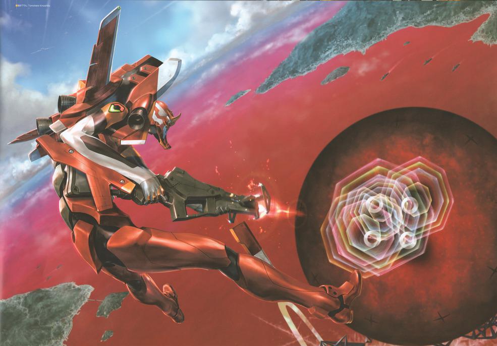 Evangelion Unit 02 Vs The 7th Angel Rebuild Artwork