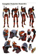 Evangelion Unidad 02'γ