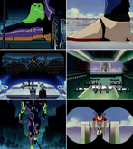 Evangelion paralelismo episodios 02 y 07