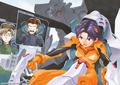 Toji, Kensuke, and Hikari as Pilot Artwork.png