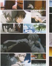 Shinji und Kaworu kommen sich näher