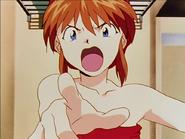 Asuka Langley enojada Episodio 16