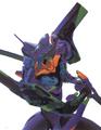 Evangelion 01 con el Magorox