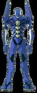 Evangelion Unit-00 Blue back