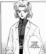 Ritsuko in manga