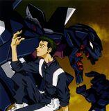 Toji y la Unidad EVA 03 (NGE)