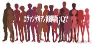 Rebuild of Evangelion 3.0 character promo
