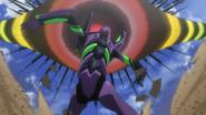 Evangelion Unit-01 vs 8th Angel (Rebuild)