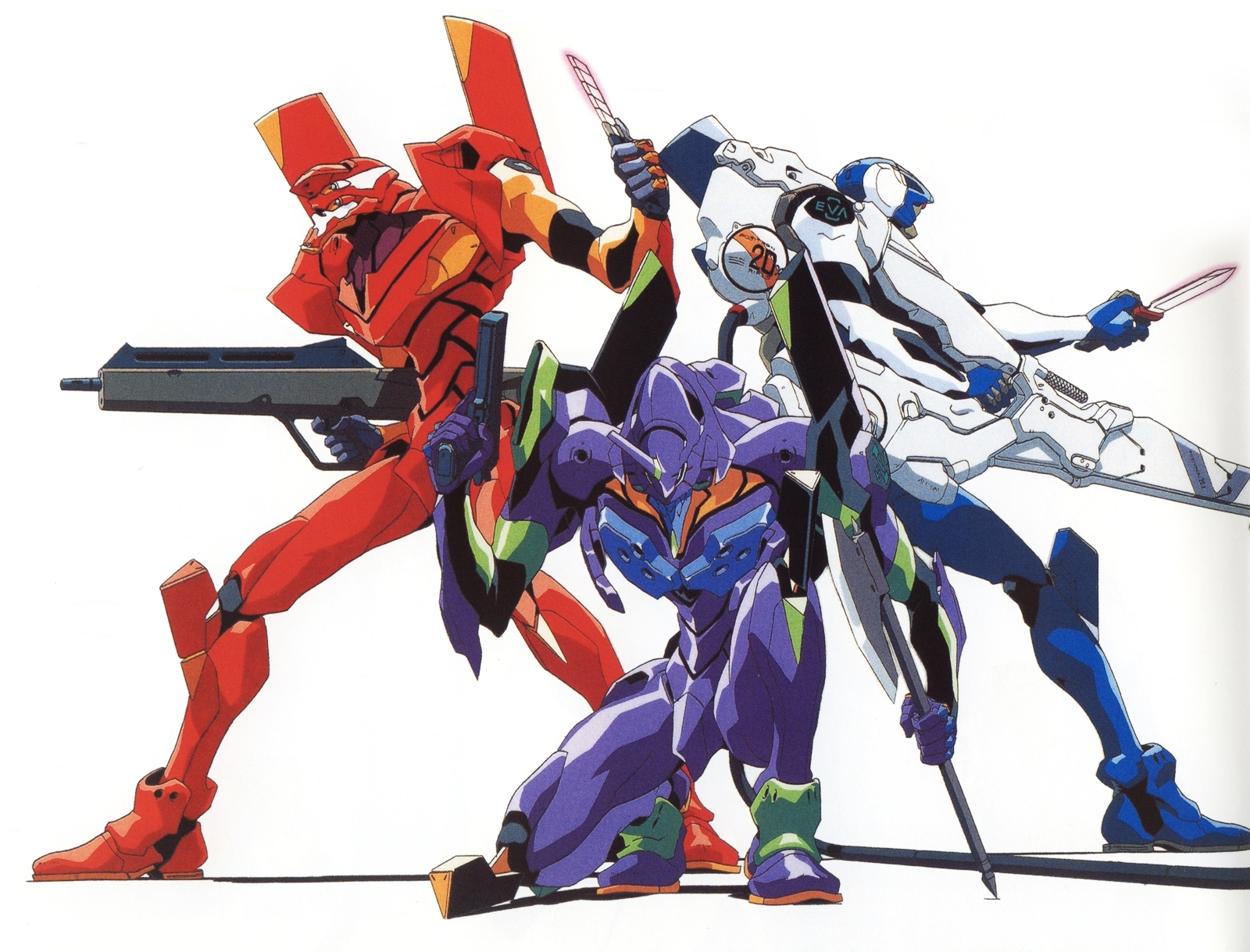 Unidades Evangelion  Neo Genesis Evangelion Wiki  Fandom