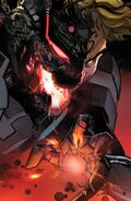 Ultron (Earth-616) and Henry Pym (Earth-616) from Uncanny Avengers Vol 3 10 001