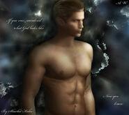 Albert wesker shirtless god by sharka0022 d4lgpns-pre