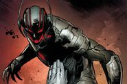 Ultron (Earth-616) and Henry Pym (Earth-616) from Avengers Rage of Ultron Vol 1 1 003