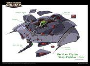Martian fighter