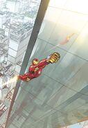 Invincible Iron Man Vol 3 1 Bengal Variant Textless