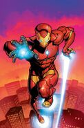 Invincible Iron Man Vol 3 1 Stegman Variant Textless