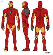 Iron Man Armor Model 51 concept art 001