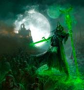Warhammer Nagash vs Empire Art