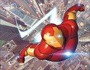 Invincible Iron Man Vol 3 1 Wraparound Textless
