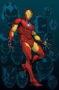 Invincible Iron Man Vol 3 1 Newbury Comics Variant Textless