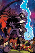Thanos Vol 2 5 Venomized Variant Textless