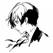 P3M Sketch of Makoto Yuki by Shigenori Soejima