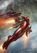 International Iron Man Vol 1 3 Skan Variant Textless