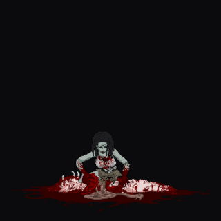 Normal Female Fedding Zombie