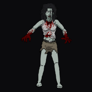 Normal Female Zombie