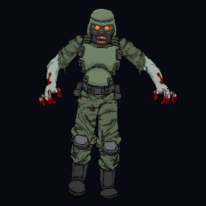 Soldier Zombie