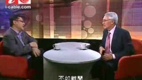 戴耀廷、周融佔中辯論 有線新聞台互質