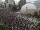 《逃犯條例》修訂風波之各區連續示威