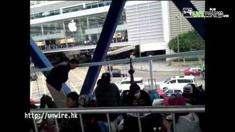鐵籠禁錮!IFC 排買 iPhone4s 賤如難民營