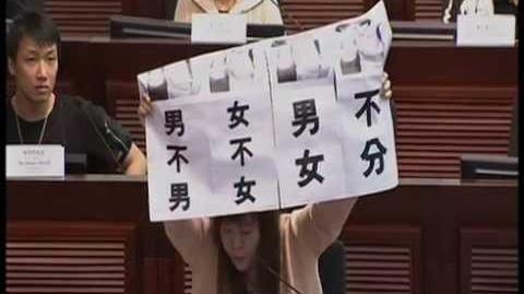李偲嫣斷正:散播仇恨言論〈2014年婚姻修訂條例草案委員會〉(with English subtitle)