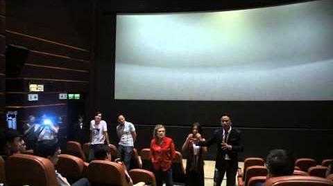 《迷離夜》謝票場- 任達華反對新界東北發展計劃 (7 15 2013)