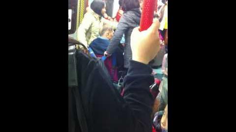 2012-01-15 火車內罵戰 香港人大戰大陸人 Part 1 1 2
