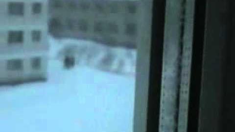 俄罗斯下大雪,大家跳楼玩。