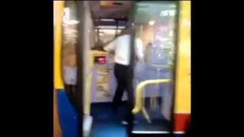 9月15日城巴車長與乘客爭執片段!
