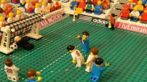 USA vs England in Lego