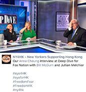 Eye For Hong Kong Campaign得到Fox News報導