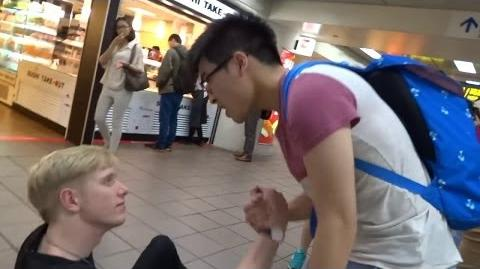 Angry HK Guy Confronts Us! (Taiwan)