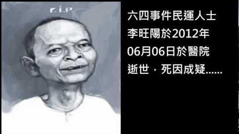 山卡啦xG大調—悼念李旺陽輓歌《鐵漢》〈原曲:情歌〉