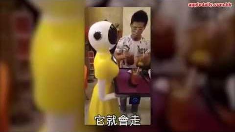 【網民hot talk】國產機械女侍應進駐旺角茶記 網民:會唔會爆炸㗎?
