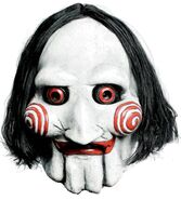Jigsaw puppet saw lizenz film maske movie mask