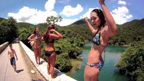英國樂隊香港水塘跳水短片