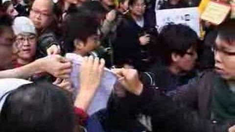 網民遊行抗議香港警方於藝人淫照事件上選擇性執法@hkgolden