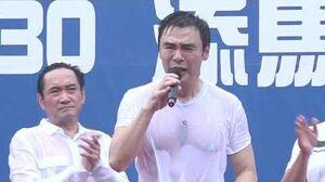 20190630 鍾鎮濤 B哥台上發言為警隊打氣,但說青年九唔搭八