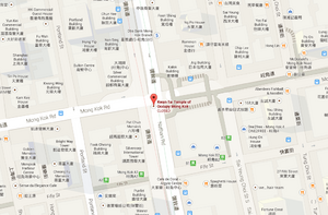 Occupycentral kwantaitemple googlemap