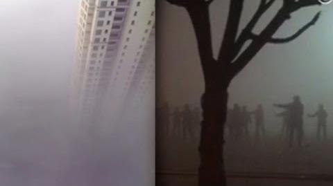 北京大媽霧霾下跳廣場舞 網民笑似《陰屍路》場景