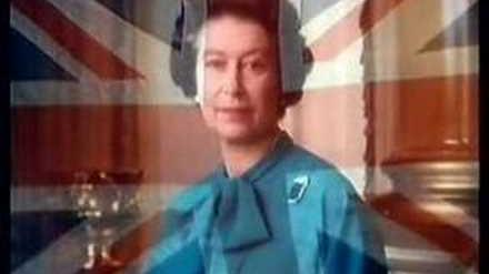 經典回憶 1987年 - 明珠台收台片段 (英女皇 + 英國國歌)